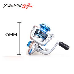 Yomoshi марка металла мини FF 150 алюминий 10 BB шарикоподшипники левый / правый рыболовная катушка спиннингом от