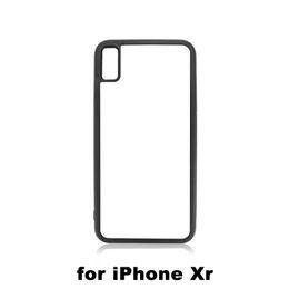 Случаи сублимации сотовых телефонов онлайн-10 шт. Высокое Качество 2D Сублимации Чехол Для Телефона Для iPhone 6 XS MAX XR С Квадратным Отверстием Пустой ТПУ + ПК Крышка Сотового Телефона