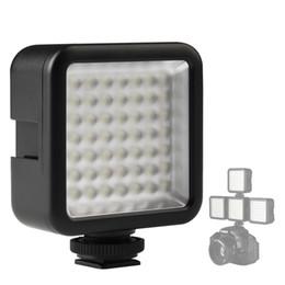 frio instantâneo Desconto Mini 49 LED Sapata Fria Vídeo Fill Light Vídeo Luz de Preenchimento de Flash Da Lâmpada para Câmera Smartphone Filmadora Fotografia DSLR