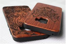 Legno totem online-Cassa dura del PC di legno solido di legno del fumetto TPU per Iphone XR X XS Max 8 7 SE 5 5S 6 6S più OnePlus 6 6T 5 5T Totem copertura della pelle del telefono cellulare 60pcs