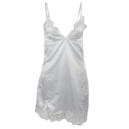 Nuovo sexy della biancheria del merletto uniforme sexy semplice Backless Tentazione signore pigiama da notte Dress Skirt tentazione uniforme di trasporto da