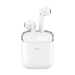 Беспроводные зарядные наушники онлайн-JOYROOM JR-T04 беспроводные наушники Bluetooth наушники TWS Bluetooth наушники с зарядной коробкой для iPhone Samsung LG