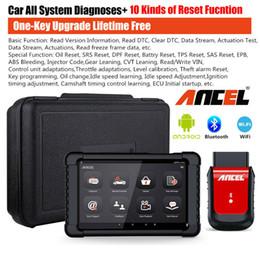 lector de código clave hyundai Rebajas ANCEL X6 WiFi OBD2 escáner de diagnóstico ABS SRS EPB DPF Oil TPMS herramienta con tableta