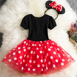 Costumi da pasqua a buon mercato online-Vestito da festa di compleanno per Pasqua Cosplay Dress Up Costume per bambini Cartoon Abbigliamento per bambine Abito economico per bambini 2 6T Wear