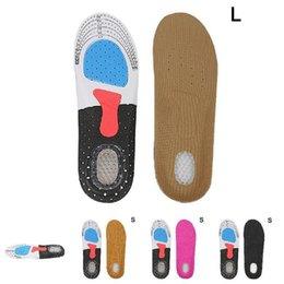 2019 protège talon chaussure silicone New Hot 1 paire Sole Pad orthétique Sport Courir Semelles Chaussures Coussin Pad soutien respirante Arc YAA99