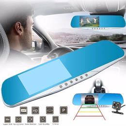 dvr spiegel 4.3 Rabatt Full HD 1080P Auto DVR dashcam Windschutzscheibe Videorecorder Auto registrator Spiegel 4.3