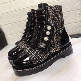 C c Marca Retro Ultra Botines 2 colores Mujeres Diseñadores Zapatos Botas de nieve Invierno Mujer Botas Tallas grandes Imagen real desde fabricantes