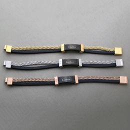 senhoras de braceletes de prata Desconto Pulseira designer Para Homens Moda High-end Qualidade Cadeia de Jóias Pulseira Para Senhoras Jóias Com Ouro Rosa de Ouro de Prata cor do Transporte da gota