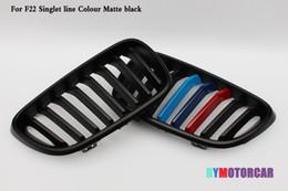 Una linea ABS e fibra di carbonio Grille Fit per BMW Serie 2 F22 1 ordine da in acciaio 1997 fornitori