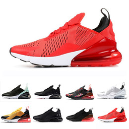 half off a0838 23bd4 AIR MAX 270 Mode Cool Wolf Gris Hommes Femmes Triple Noir Blanc Tigre  Chaussures De Course Olive Formation Sport Hommes Baskets Zapatos Sneakers  chaussures ...