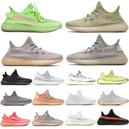 zebra shoes for women Coupons - Top Fashion Antlia Lundmark Synth GID Clay Running Shoes For Men Women Semi Frozen Yellow True Form Static Zebra Beluga Sesame Sneakers