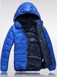 uomini xxl alto rivestimento collare Sconti Face Uomini Jacket marchio di abbigliamento di alta qualità Men Casual caldo incappucciato del collare della pelliccia Slim cappotti Giacche invernali XXL fronte di marca