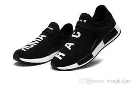 74427dc9b 2018 Human Race Factory Real Yellow Red Black Orange Men Pharrell Williams  X Human Race Shoes Sneakers size 39-45