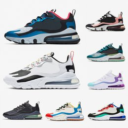 Nike air max 270 react airmax shoes Travis Scott Blue Void Hellviolett BAUHAUS React Herren Laufschuhe Grau Electro Grün OPTICAL Herrentrainer Sport