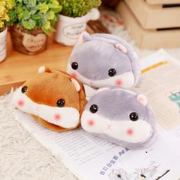 cute peluche giapponese Sconti Kawaii Salvadanaio Portafogli per ragazze Mini borsa a tracolla per criceto con dimensioni sveglie Borsa a forma di borsa in peluche stile giapponese
