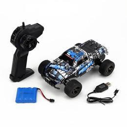 Control remoto de coche pequeño online-coche teledirigido inalámbrico recargable juguetes de los niños de la fábrica de automóviles eléctricos control remoto de coches de control remoto de SUV pequeño regalo de embalaje