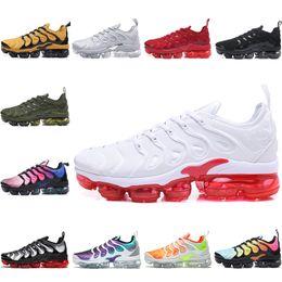 Nike Air TN Plus Nuevas zapatillas deportivas 2019 Vapors Olive para hombre, más juego Run Metalizado Triple TN Negro Blanco Maxes Silver Zapatillas para correr desde fabricantes