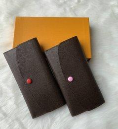 Cartes de crédit de détail en Ligne-2019 Livraison gratuite Vente chaude en gros et au détail 2019 nouveaux cuir PU portefeuilles et portefeuilles pour femmes porte-cartes sacs à main sacs à main 60017