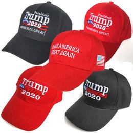 Donald Trump 2020 Baseball Cap Machen Sie Amerika wieder groß Hut Stickerei halten Amerika großen Hut republikanischen Präsidenten Trump Kappen c0054 von Fabrikanten