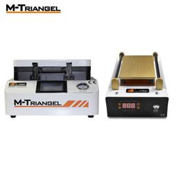Máquina de laminação oca on-line-M-Triangel OCA laminador de vácuo de laminação Máquina Repair LCD Remove Separator Recondicione tela Bubble Machine