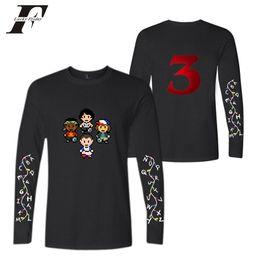 c3bc2707b BTS t shirt Print Men Clothes 2019 Tshirt Harajuku Long Sleeve Stranger  Things Season 3 Tops Tee T-shirt Hip Hop Plus Size stranger things tops  outlet