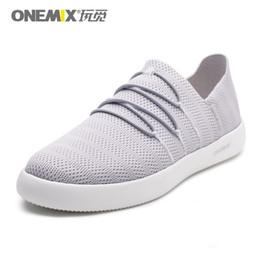 2019 scarpe da ginnastica onemix ONEMIX Leggero Uomo Casual Scarpe Slip-on Mesh traspirante superiore Sneakers per donna zapatillas hombre scarpe da ginnastica onemix economici
