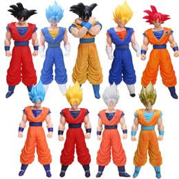 Grande figura de ação goku on-line-bloco de Dragon Ball Z 40 centímetros Janpan Ação Anime Dragon Ball Z Goku Grande Saiyaman Action Figure Super grande