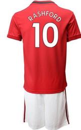 Personnalisé 19-20 9 ensembles de maillots de football de Lukaku avec des shorts, Rashford pas cher 10 7 Alexis 6 kits de vêtements de jersey ? partir de fabricateur