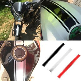 funny motorcycles Coupons - 50*4.5cm DIY Fuel Tank Sticker Waterproof For Racing Motorcycle Accessories Funny Decoration Sticker Moto Decals