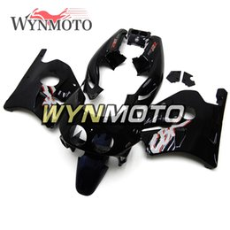 1993 motorcycles Promo Codes - Motorcycle Injection Full Fairing Kit For Honda CBR250RR MC22 Year 1990 1991 1992 1993 1994 ABS Plastic Bodywork Gloss Black Silver Carenes