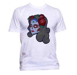 0695f968e7b Discount Flower Skull T Shirt | Flower Skull T Shirt 2019 on Sale at ...