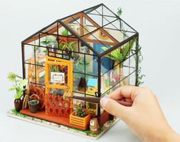Argentina Nuevos tipos de bricolaje 5 mini casa con muebles Hijos Adultos Casa miniatura kits de madera de juguete de regalo micro paisaje Modelo Suministro