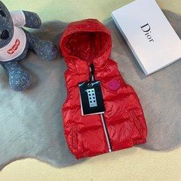2019 мальчики зебры жилет fenash10 девушки пальто куртки зимние виды спорта хлопка свитер жилет для детской одежды детей мальчиков письмо верхняя одежда 0818
