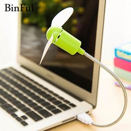 gadget notebook Rabatt Mini USB Fan Gadgets Flexible Cool Für Laptop PC Notebook hohe Qualität Für Laptop Desktop PC Computer