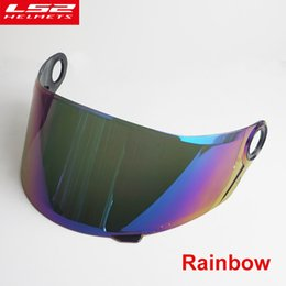 ls2 motorbike helmets Coupons - Face shield for LS2 FF396 full face motorcycle helmet Multicolor external sun visor lens for LS2 FF396 motorbike helmet