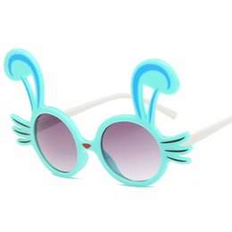 2019 lindas gafas de sol para niñas TTLIFE Cute Baby Cat Eye Sunglasses Kids Animal Cartoon Uv400 Gafas de sol Gafas para niños Gafas para niñas Niños Regalo gafas de sol lindas gafas de sol para niñas baratos