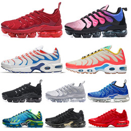 2020 zapatos de aire para el deporte nike air vapormax air max airmax tn plus 2019 TN Plus Zapatillas de running Bumblebee Olympic Work Blue Creamsicle Uva Sunset Game Royal Hombres Mujeres Deportes Zapatillas 36-45 rebajas zapatos de aire para el deporte