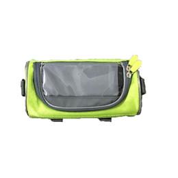 2019 etc accessoires Sacoche de guidon pour vélo Sac de rangement pour téléphone portable avec écran tactile Vélo Equitation extérieure, etc. Accessoires etc accessoires pas cher
