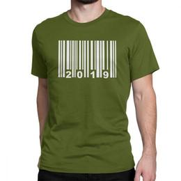 9e66e75d Mens luxury brand designer t shirts 2019 Barcode T Shirt Man Party Clothes  Fashion T-Shirts O Neck Cotton Tees Leisure Balancing Recreation