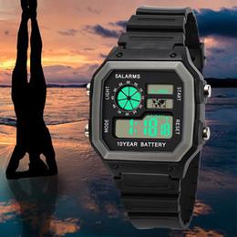 2019 спортивные наручные часы Мода High-End Многофункциональный 30М Спорт Водонепроницаемая спортивные часы электронные цифровые часы подарки Мужские наручные часы светящееся скидка спортивные наручные часы