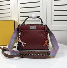 43ed1bfe72dbf seiltaschen Rabatt Designer Handtaschen Marke Luxus Handtasche Mode  Farbverlauf Seil Leder Umhängetasche Geldbörse Messenger Bag