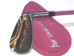 2019 lila golfclubs Hochwertige Damen Golfschläger S-06 Kompletter Schlägersatz (Fahrer, Fairwayhölzer, Eisen, Putter) Versandkostenfrei