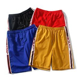 Calça de ioga unisex on-line-Novos homens e mulheres casuais Calções calça calças de Praia Movimento de design de Luxo calças unisex Yoga Shorts calças G53