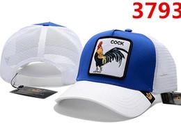 2019 célèbres casquettes de baseball 2019 nouveaux modèles classiques de design en gros populaires Marque célèbre Caps Lettres coq casquette top qualité sport hat polo chapeaux de Baseball pour les hommes hommes promotion célèbres casquettes de baseball