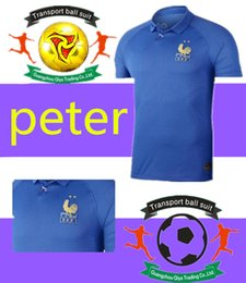 e5cc14653b5 1919 2019 France Special Edition Centenary HENRY soccer jersey long sleeve  mbappe GIROUD kante maillot de foot ZIDANE 19 20 football shirts