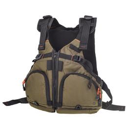 надувная куртка Скидка Professional 165lbs Inflatable Life Jacket Kayaking Fishing Sports Life Vest Swimwear Water Sports Swimming Survival Jacket