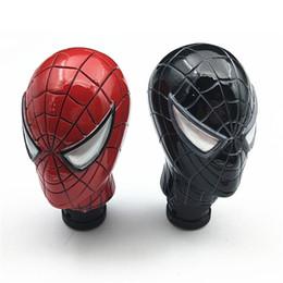 Canada Spider-Man voiture avec tête de changement de vitesse automatique résine plastique tête modifiée bloc tête levier de changement de vitesse manuel tête d'onde universelle Envoyer son petit ami Offre