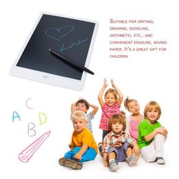 sottile compressa bianca Sconti Risparmio energetico ultrasottile del tavolo da disegno di Digital della compressa di scrittura LCD a 10 pollici di 2pcs