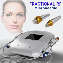 Olho micro agulha on-line-RF Thermage Micro Agulha Fracionária máquina RF Rejuvenescimento Da Pele Thermage Micro Needling beleza equipamentos de remoção de rugas ao redor do olho