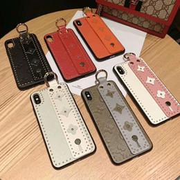 2019 Nouveau Fashional 3D Fleurs Téléphone cas Poignet Doigt bande style style cas de cas pour iPhone X XS MAX XR 8 7 6 s Plus Couverture Antichoc ? partir de fabricateur